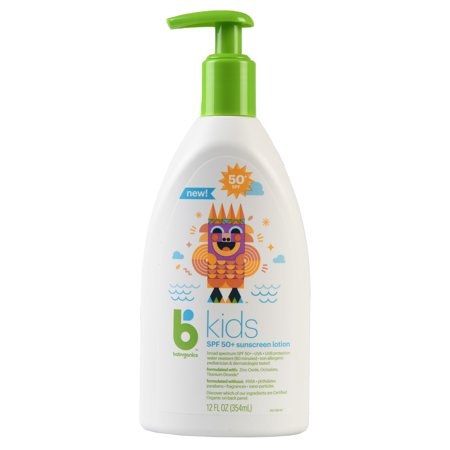 Babyganics BKids Sunscreen Lotion SPF 50, 12oz