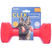CLIX Training Dumbbells, Red - Large CLIX Training Dumbbell, 7.5