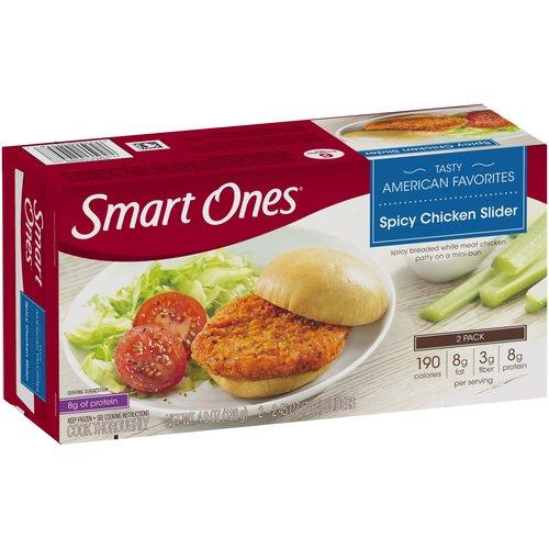 Weight Watchers Smart Ones Tasty American Favorites Spicy Chicken Slider, 2.45 oz, 2 count