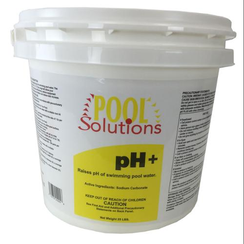 Pool Solutions Swimming Pool 25 Lbs Water Balance pH+ Plus Increaser | P31025DE