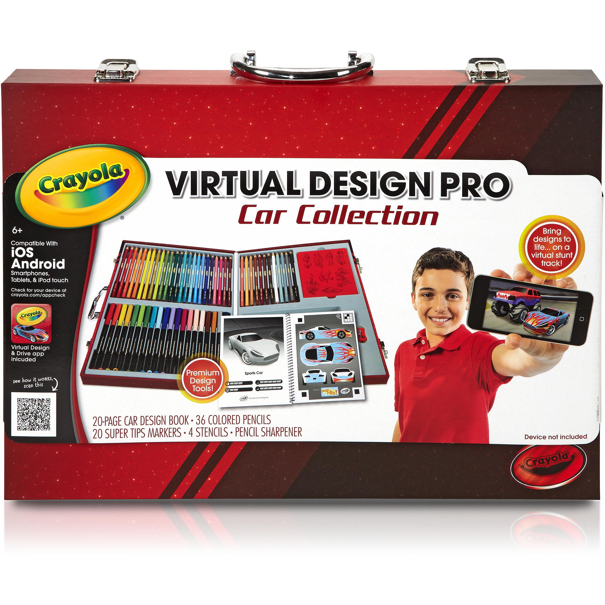 Crayola Virtual Design Pro Car Collection