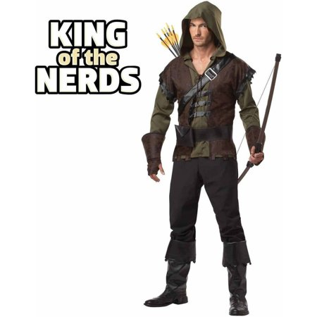 Robin Hood Weapons (Robin Hood Men's Adult Halloween)