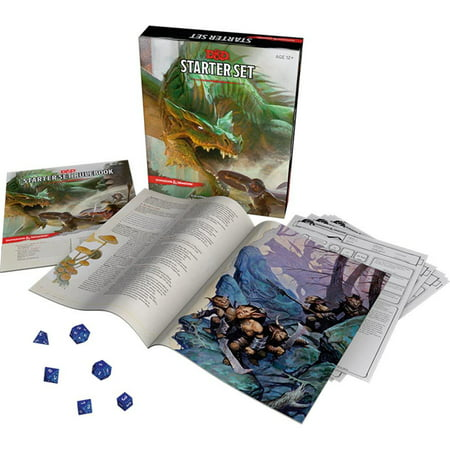 Dungeons and Dragons Dragons Starter Game