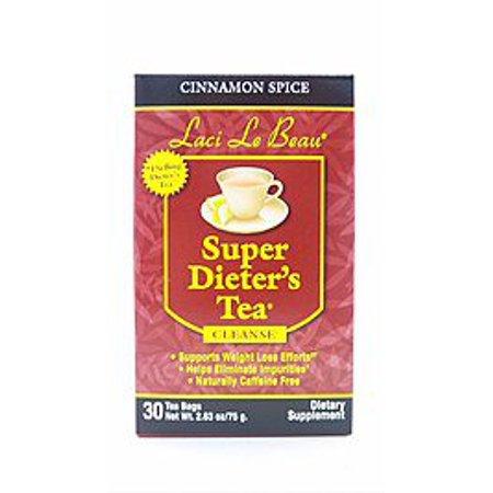 Super Dieters Tea-Cinnamon Spice Laci Le Beau 30 Bag