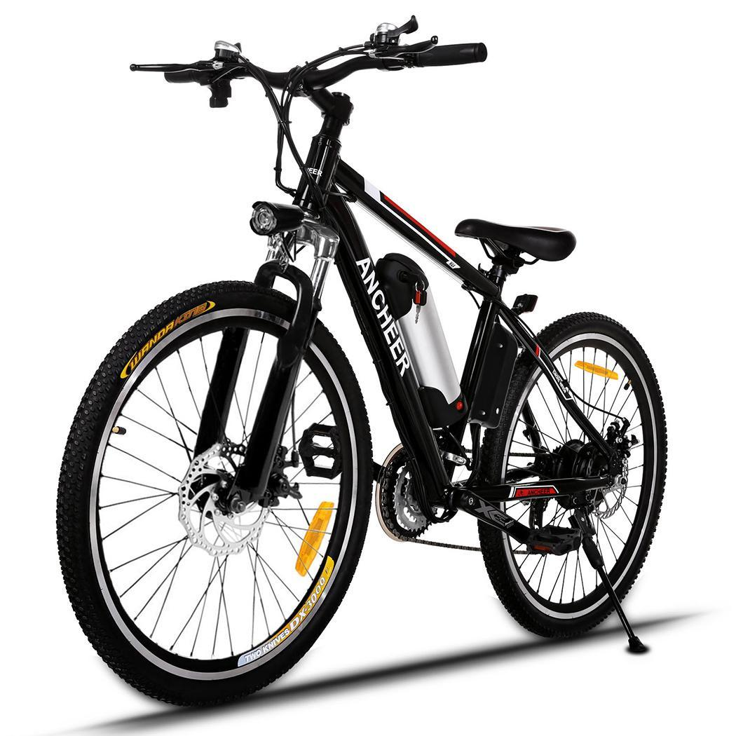 "Black Friday Clearance&Sale!!! ANCHEER Electric Bike 25"" 36V Foldable Bicycle Electric Power Mountain Bike For Adults Or Men Bicycle with Lithium-Ion Battery"