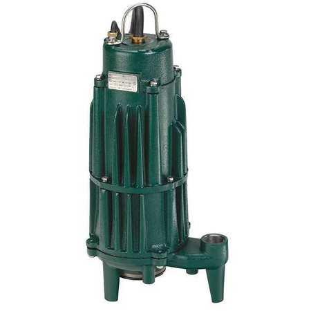 - Grinder Pump, Reversing, 460V ZOELLER 840-0008