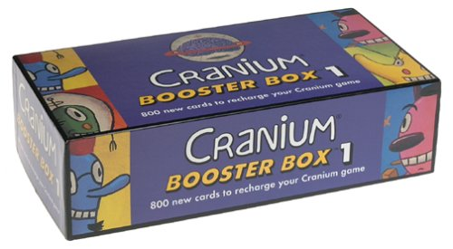 Booster Box 1, 800 Cranium cards for even more fun By Cranium by