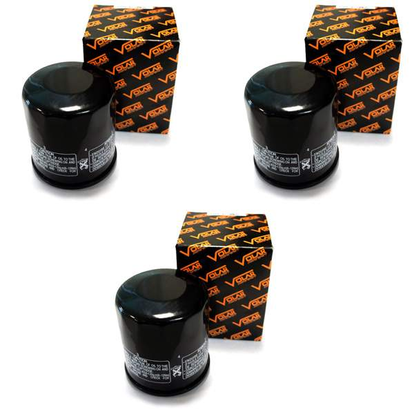 2007-2008 Yamaha Grizzly 660 YFM660 Auto 4x4 Oil Filter - (3 pieces)