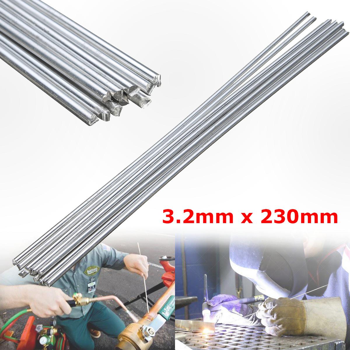 10X Low Temperature Aluminium Welding Soldering Brazing Repair Rods 3.2x230mm US
