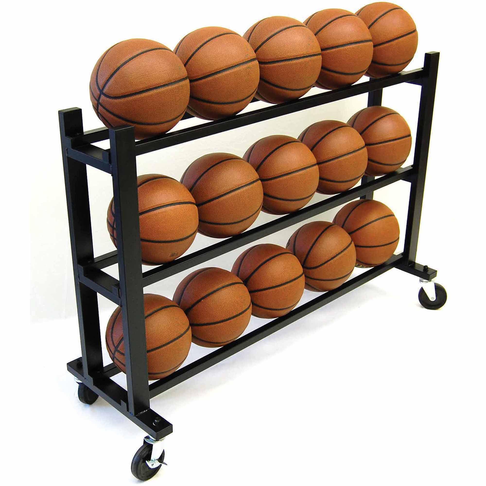ProCage 15-Ball HD Ball Cart, 3-Tier