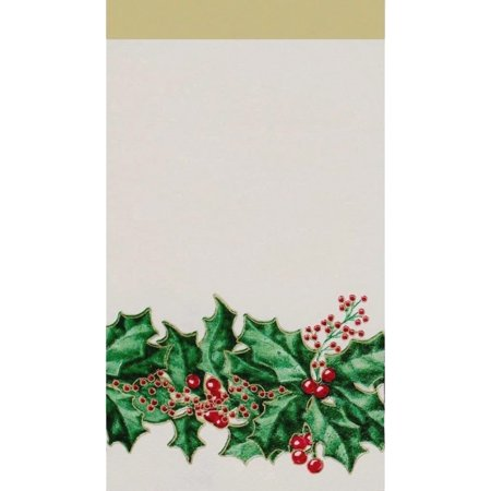 Winter Holly 16 Count Guest Towel Paper Napkins (Winter Napkins)