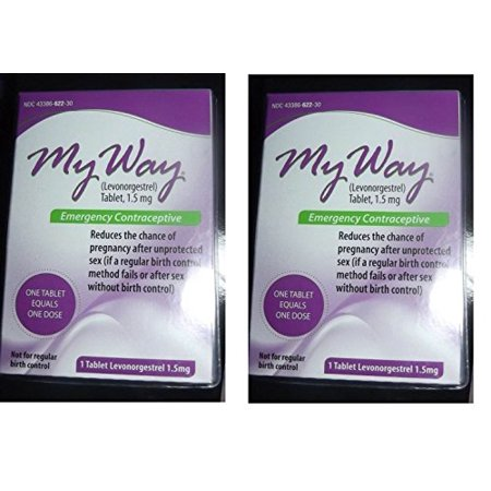 My Way Emergency Contraceptive 1 Tablet Compare To Plan B One Step By Busuna LWSbvI Two Tablets