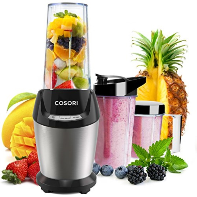 COSORI Smoothie Blender Personal Juicer, High Speed Single Serve Food Fruit Maker Mixer