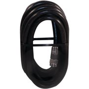 Steren BL-215-306BK Rg6 Quad-shield Coaxial Cable with F-Connectors, 6'