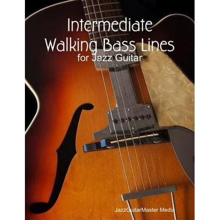 Intermediate Walking Bass Lines for Jazz Guitar - eBook Deluxe Active Jazz Bass Guitar