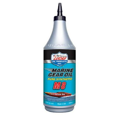 Lucas Oil 10652 Marine Synthetic Gear Oil - 75W90 - 1qt.