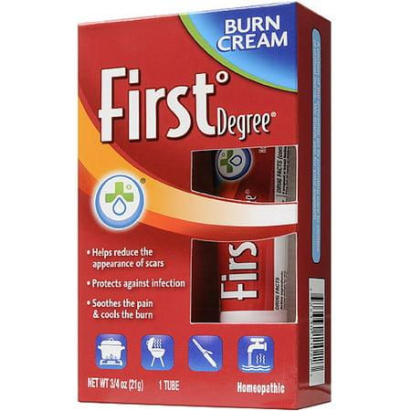 First Degree Burn Cream, 0 75 oz