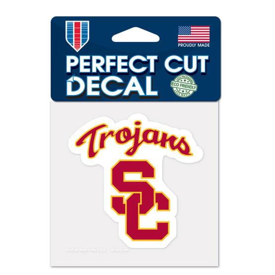 USC Trojans 4x4 Perfect-Cut Car Auto Decal Sticker