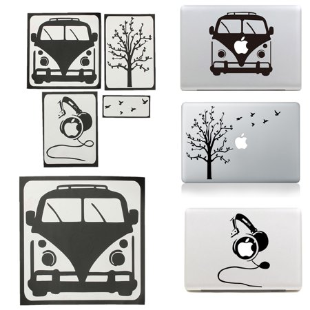 3 Types EASY FIT Laptop Decal Sticker Skin Cover for Apple MacBook Air Pro 11 13 15