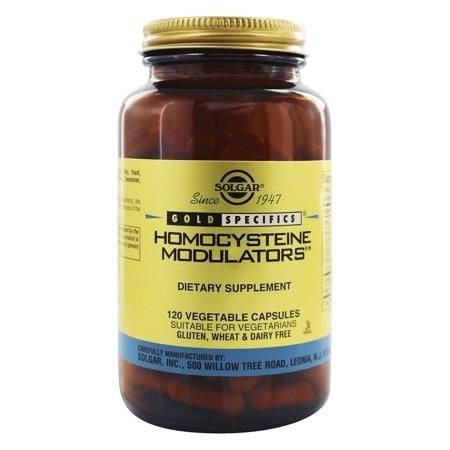 Solgar - Gold Specifics Homocysteine Modulators - 120 Vegetarian Capsules