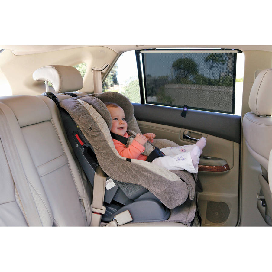 Dreambaby Extra-Wide Car Window Shade for Trucks and SUVs, 2pk