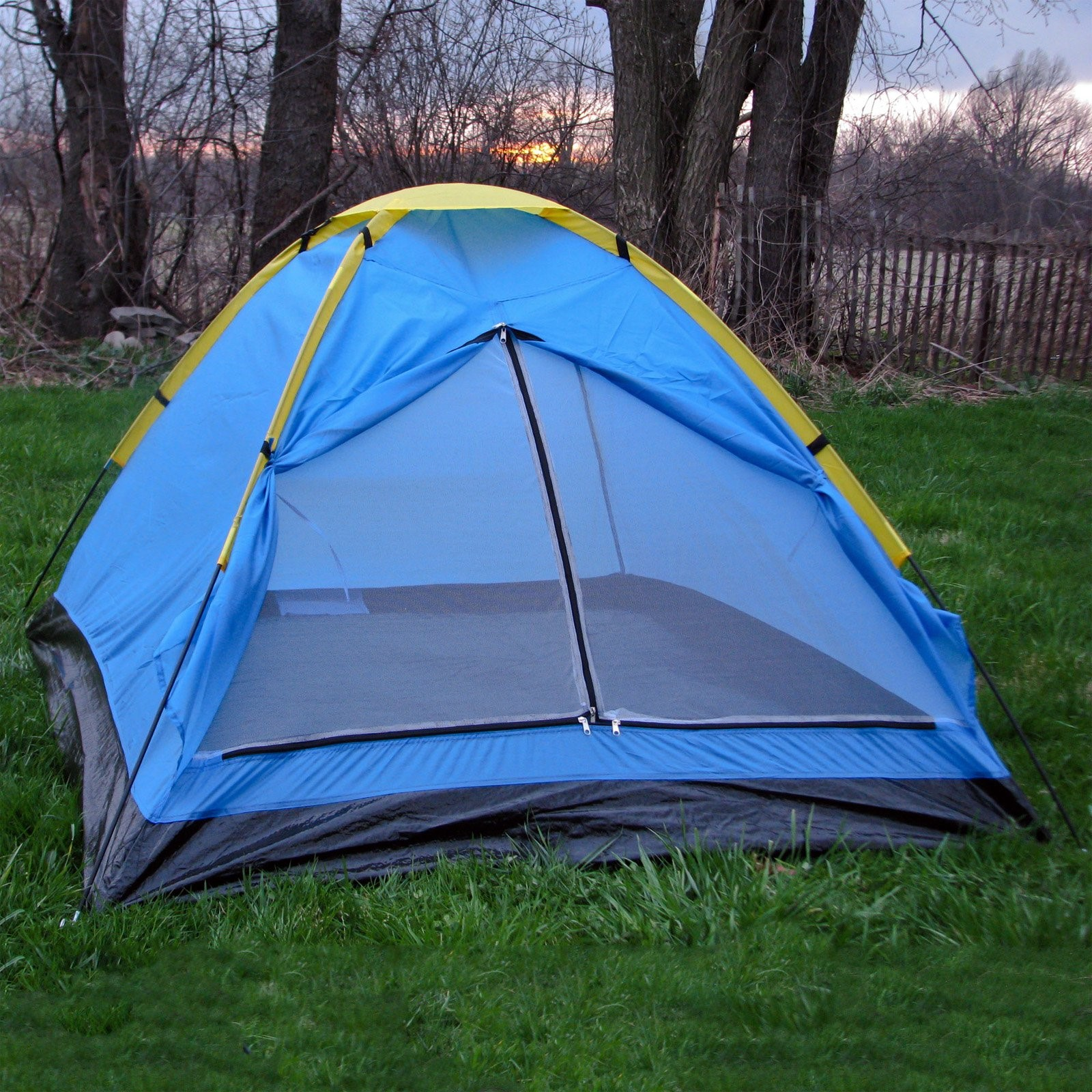 Happy C&er 2-Person Dome Tent & Happy Camper 2-Person Dome Tent - Walmart.com