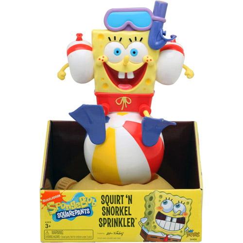 SpongeBob Squirt n' Snorkel Sprinkler by Imperial Toy