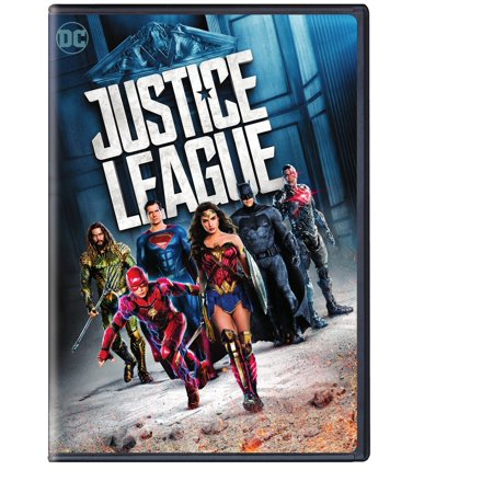 Justice League (2017) (Walmart Exclusive) (DVD)