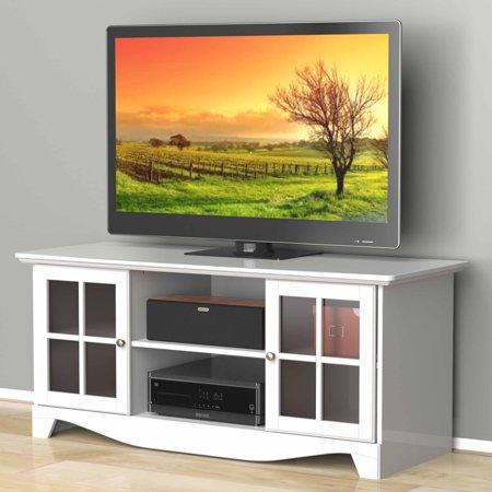 Nexera Pinnacle White Hec Tv Stand For Tvs Up To 56