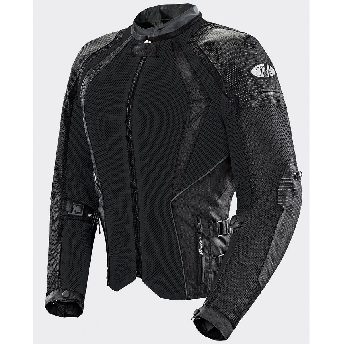 Joe Rocket Cleo Elite Womens Black Mesh Jacket