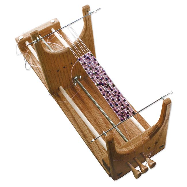 BeadSmith Ricks Bead Loom Kit For Beginners - Weave Necklaces Bracelets And More