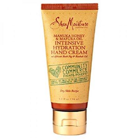 SheaMoisture Manuka Honey & Mafura Huile intensive Hydratation Crème pour les mains, 3,2 oz