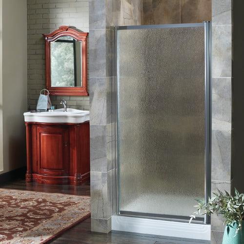 Hazelwood Home Chase 27'' x 65'' Pivot Framed Shower Door
