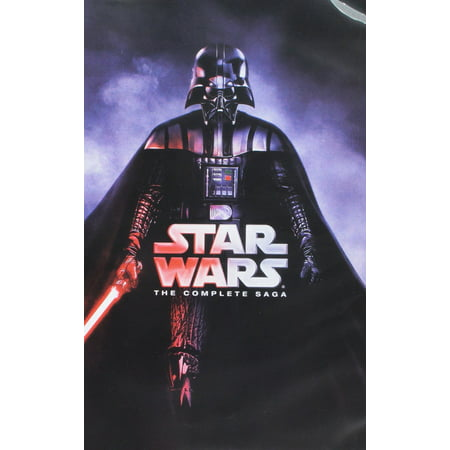 Star Wars: The Complete Saga (DVD) - Halloween Complete Collection Dvd