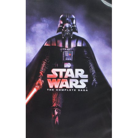 Star Wars: The Complete Saga (DVD) for $<!---->