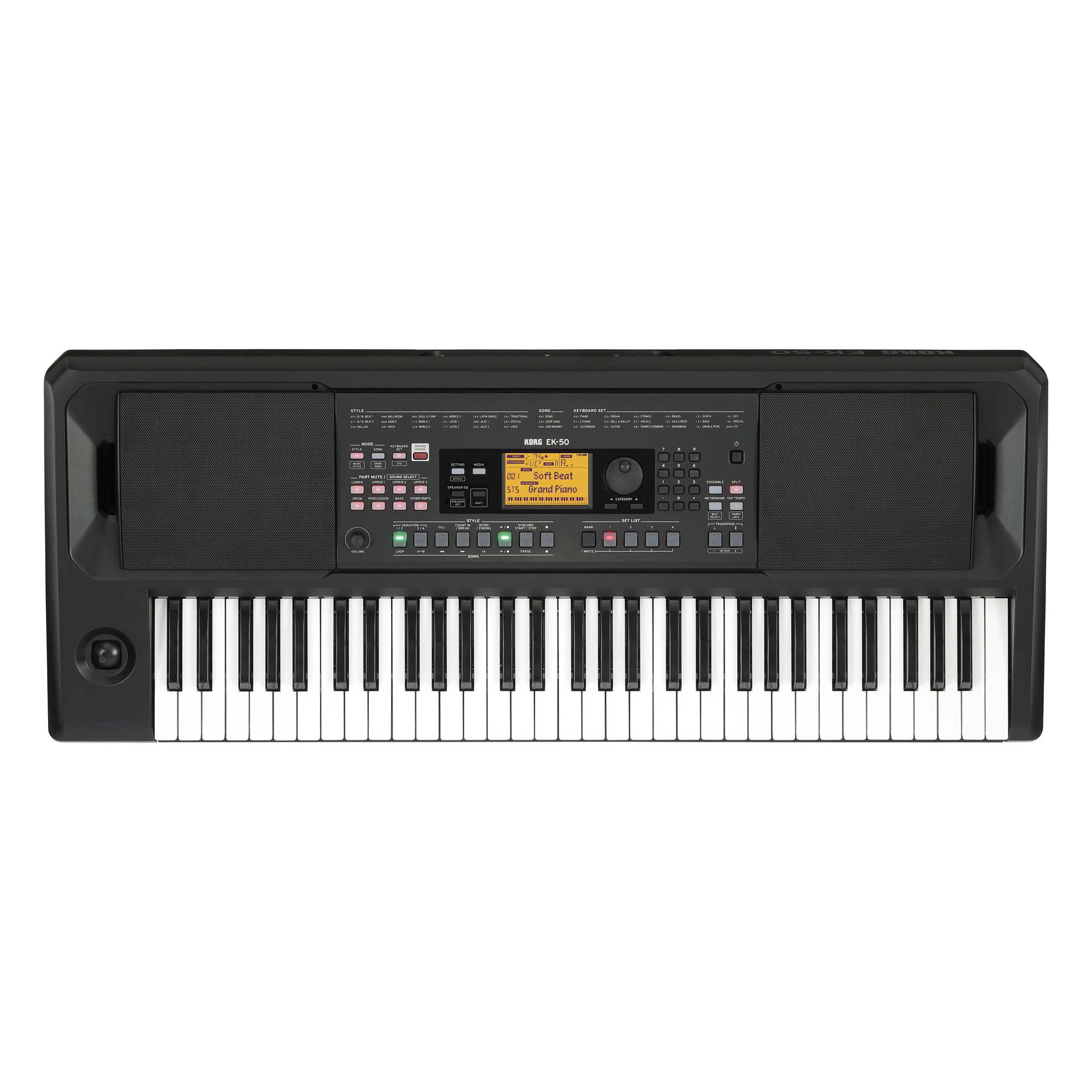 Korg EK-50 61-Key Arranger Keyboard