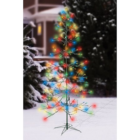 72 twinkle christmas tree led light sculpture multi color lights. Black Bedroom Furniture Sets. Home Design Ideas
