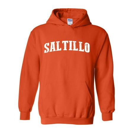 Saltillo Map What To Do In Coahuila Mexico Men S Hoodie Sweatshirt