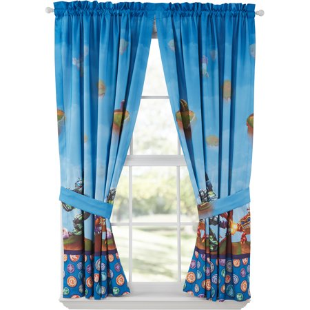 Skylanders Boys Bedroom Curtains Set Of 2 Walmart Com