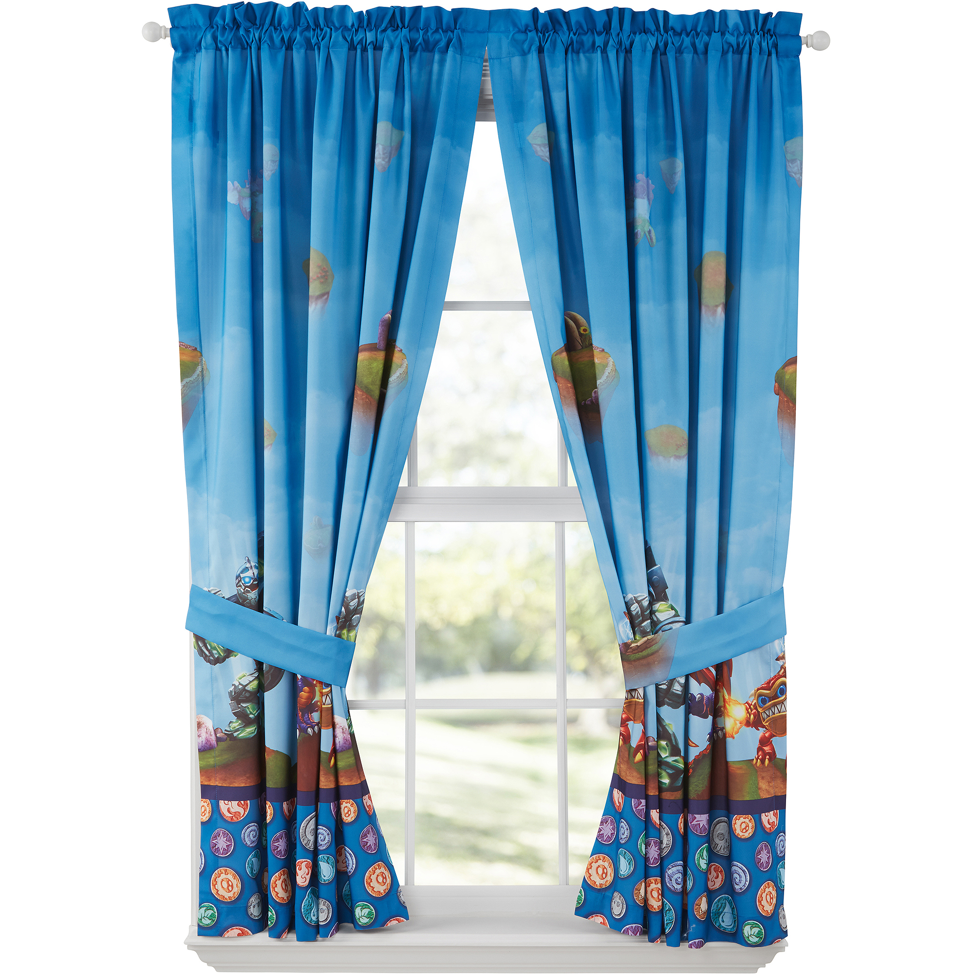 Skylanders Boys Bedroom Curtains, Set Of 2