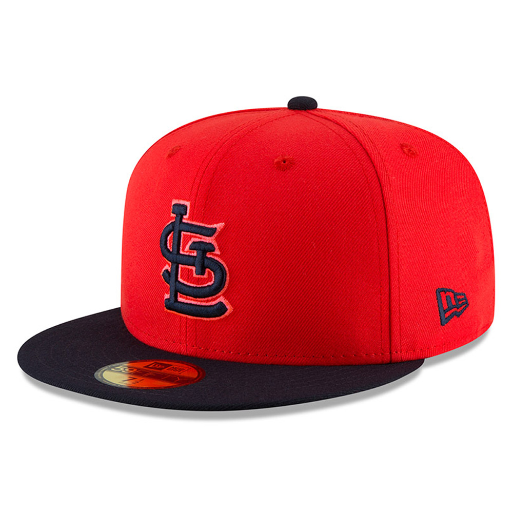 St Louis Cardinals New Era 2018 Players' Weekend On-Field 59FIFTY Fitted Hat - Red/Navy
