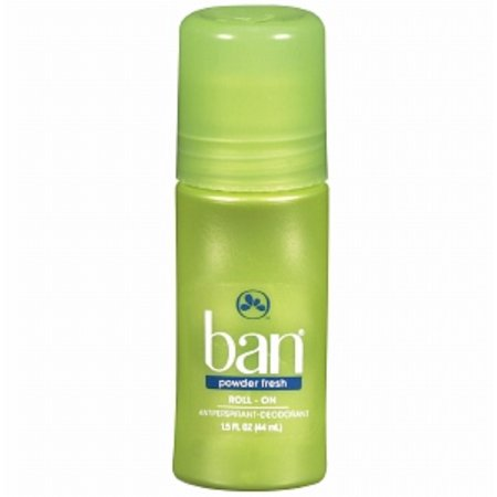 4 Pack - Ban Roll On Antiperspirant And Deodorant, Powder Fresh 1.5 oz