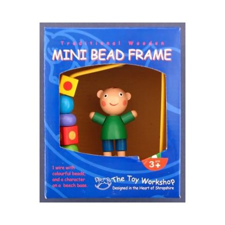 - Wooden Mini Boy Bead Frame by The Toy Workshop