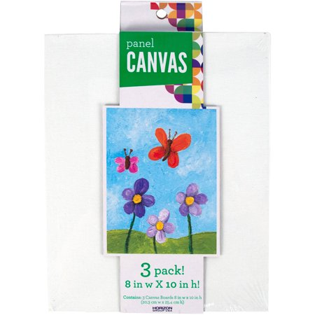 Canvases, 3 PK 10IN x 8IN by Horizon Group USA