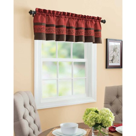 Better Homes And Gardens Elizabeth Valance Or Kitchen Tiers Brick