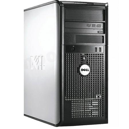 Dell Optiplex Desktop PC Tower Windows 10 Intel Core 2 Duo Processor 4GB Ram 80GB Hard Drive with DVD -Refurbished