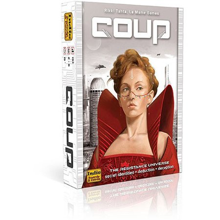 Coup Card Game - Halloween Card Making Games