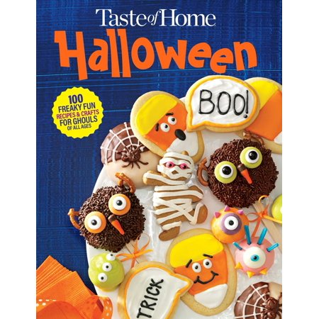 Taste of Home Halloween Mini Binder: 100+ Freaky Fun Recipes & Crafts for Ghouls of All Ages (Hardcover)](Halloween Cookbooks)