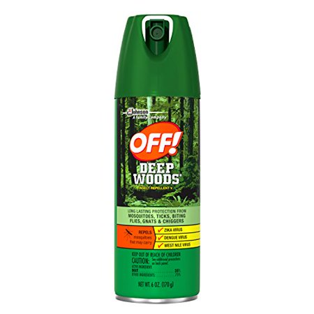 OFF! Deep Woods Insect Repellent V, 6oz