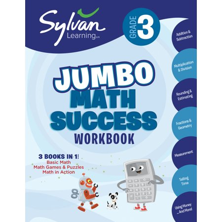 3rd Grade Jumbo Math Success Workbook : Activities, Exercises, and Tips to Help Catch Up, Keep Up, and Get Ahead (Halloween Activity For First Grade)